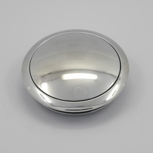 Billet Aluminum Steering Wheel Horn Button Small Plain High Polished