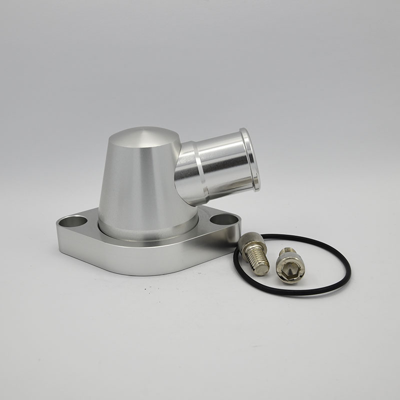 Aluminum Billet Swivel Thermostat Housing Water Neck Chevy Small Block Big Block Featured Image