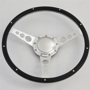 "14"" Classic wood steering wheel 350mm for Alfa Romeo MG"