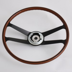 420mm Reproduction VDM wood rim steering wheel Restoration Porsche 901 911 912