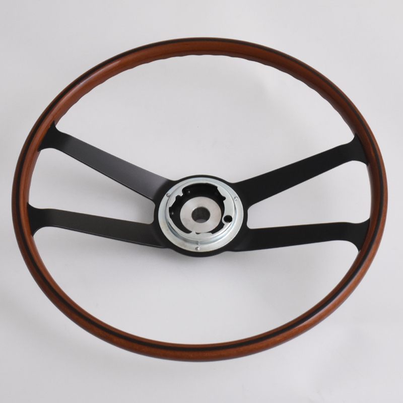 420mm Reproduction VDM wood rim steering wheel Restoration Porsche 901 911 912 Featured Image