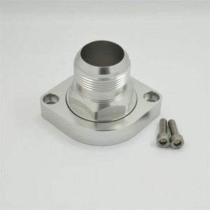 Aluminum Billet Swivel Thermostat Housing LS Water Neck