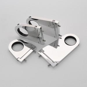 Polished Billet Aluminum Solid Steering Column Drop