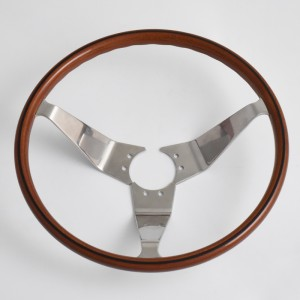 "14"" Opel GT Classic Steering Wheels Wood Grip with Black line Opel Classic Parts"