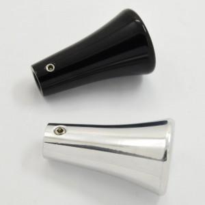 Billet aluminum Column Turn signal lever with knob Steering Shift Arm Lever polished