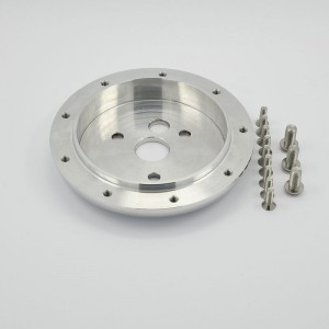 9 Bolt Aluminum Billet Conversion Spacer
