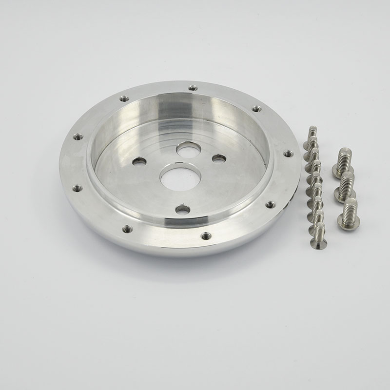 Polished Aluminum Billet Conversion Spacer for 9 Bolts Pattern Steering Wheel Featured Image