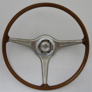 16.5 inch VDM wood steering wheel Porsche 356B 356C Carrera 2000 T6 T5