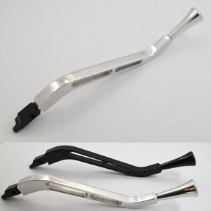 Billet aluminum Column Turn signal lever with knob Steering Shift Arm Lever polished