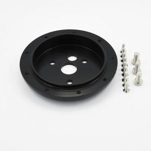 Polished Aluminum Billet Conversion Spacer for 9 Bolts Pattern Steering Wheel