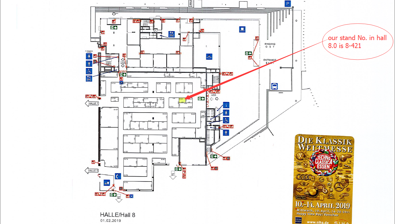 our stand No. in hall 8.0 is 8-421