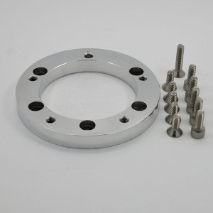 5&6 Bolt Aluminum Billet Conversion Spacer
