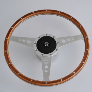 "14"" 3-spoke Classic wood Grain steering wheels for Restoration Austin Healey ,3000, Sprite"