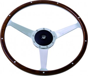 16 inch wood Classic steering wheel 380mm Anodized Steering Wheel