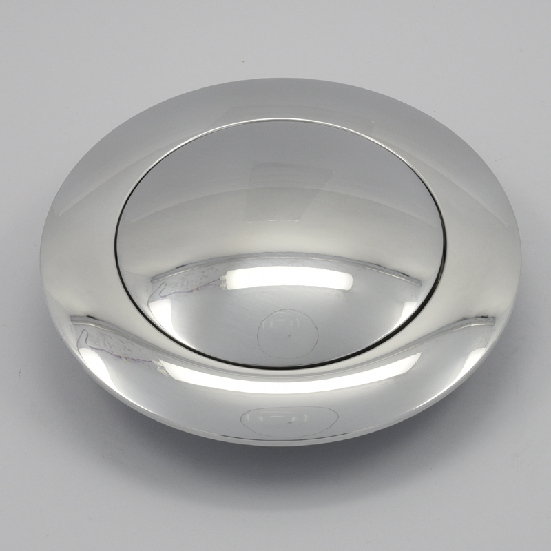 Aluminum Horn Button for 9-bolt Steering Wheels Small Polished