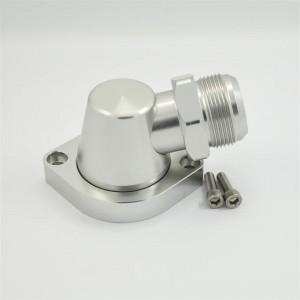Aluminum Billet Swivel Thermostat Housing LS Water Neck